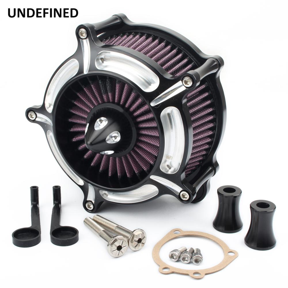 Air Cleaner Motorcycle Turbine Spike Air Intake Filter System For Harley Dyna FXR Softail Touring Street