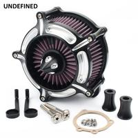Air Filter Motorcycle Turbine Spike Air Cleaner Intake System For Harley Dyna FXR Softail Touring Street Glide air filter moto