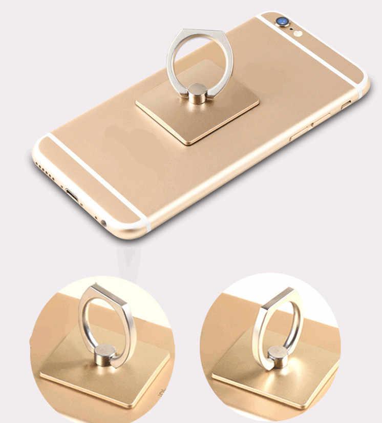 Hàng Mới Về Di Động Đa Năng Kim Loại Nhẫn Điện Thoại 360 Dgree Xoay Chân Đế cho iPhone Samsung Giá Đỡ Điện Thoại R20