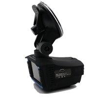 HGDO 2 en 1 Detector de Radar Inglés Voz de Coches DVR 720 P HD Dashcam detección de la velocidad de flujo Overspeed Recordando Global general radar