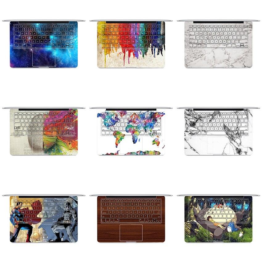 YCSTICKER-Ordinateur Portable Autocollant Clavier Complet Vinyle Sticker Peinture Peau pour Macbook Air Retina Pro Nouvelle 13 15 Tactile Bar & Écran Film