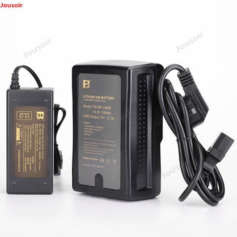 Moniteur de batterie de port de caméra professionnelle de diffusion de FB BP 190W V type baïonnette CD50 T03