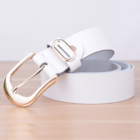 Designers Luxury Female Strap Brand Genuine Leather Dress Belts For Women Wedding High Quality Cowskin For