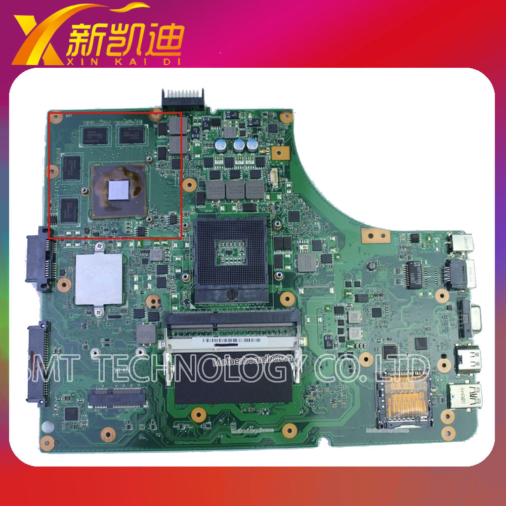 For Asus laptop K53SV rev 3.0 Intel motherboard GT540M HM65 DDR3 mainboard 60-N3GMB1300-E12 original new for asus n43sl laptop motherboard rev 2 0 ddr3 hm65 gt540m 1g n12p gt a1 mainboard