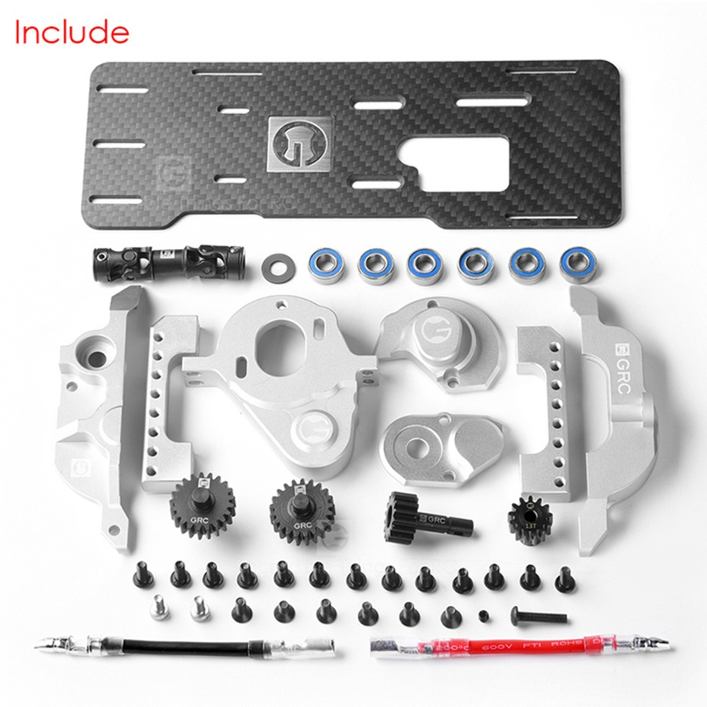 Simulation V8 engine For GRC TRX4 TRX 4 G2 Motor Pre-gear Box Front Electric Motor Kit T4 Front-mounted RC Cars Parts motorcycle parts copper based sintered motor front