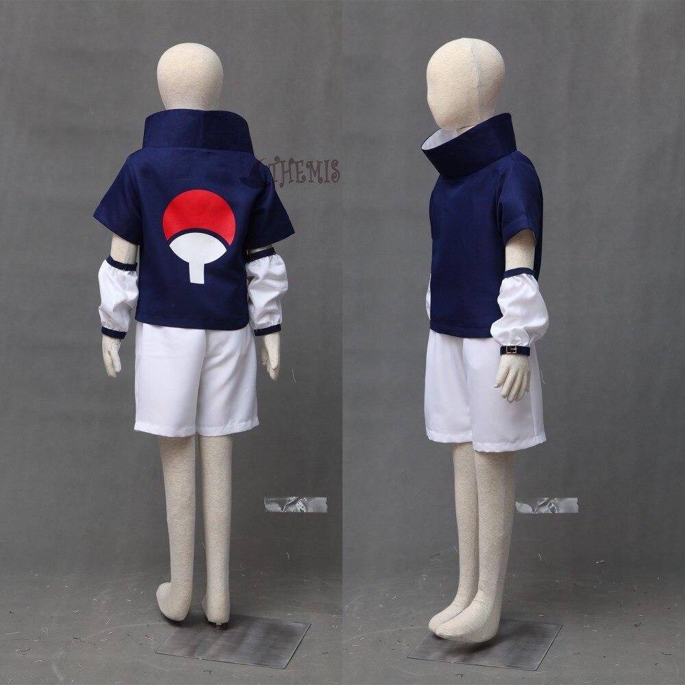 Image 2 - Athemis Naruto Uchiha Sasuke Cosplay Costume and blue headband custom made Any sizesasuke cosplay costumecosplay costumesasuke cosplay -