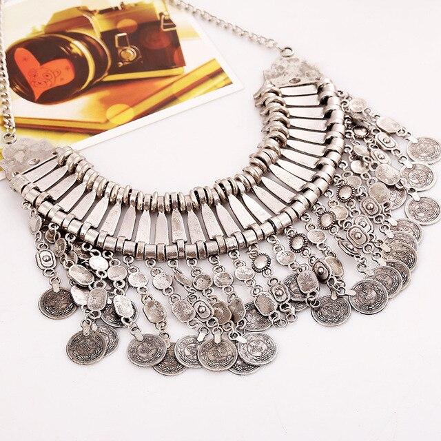 Купить lzhlq 2020 богемное античное ожерелье с монеткой для женщин
