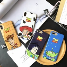 Cartoon Anime Toy Story Buzz Lightyear phone case For iphone Xs MAX 6 6s 7 8 plus Three Eyes Glossy silicone glossy cover Coque