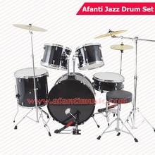5 font b Drums b font 3 Crash Cymbals Black color Afanti font b Music b