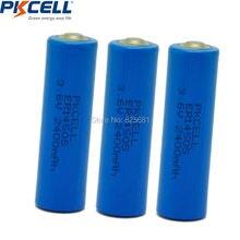 3 шт 3,6 V ER14505 14505 с 2400 mah AA LiSCLO2 батарея превосходное LR6 R6P 1,5 V аккумуляторов для gps отслеживания, камеры, устройство чтения карт памяти резервного копирования