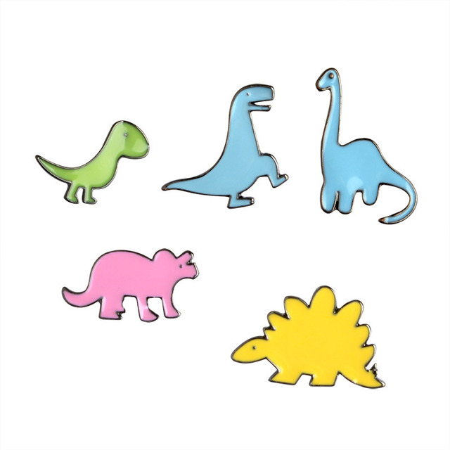 Image of: Isolated Free Shipping Cute Cartoon Dinosaurs Dragon Brooch Pins Jeans Bag Decoration Fashion Jewelry For Women Gift Wholesale Aliexpress Free Shipping Cute Cartoon Dinosaurs Dragon Brooch Pins Jeans Bag