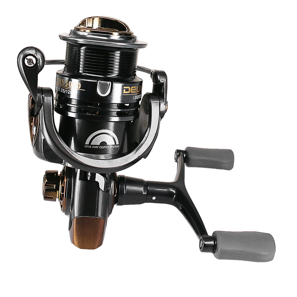 Fishing Reel 7.1:1 High Speed 6bb Spinning Reel 2000/3000 Series Light Weight Carp Reel Full Metal Saltwater Pre-Loading Wheel