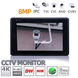 Image 4 - IPC 1800SN 4 インチ 4 18k H265 ip カメラテスター 8MP ahd tvi cvi cvbs cctv テスターモニター ptz 制御迅速な onvif ipc テスター poe