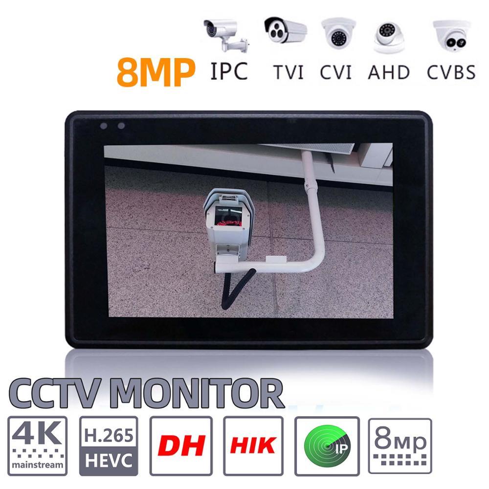 Image 4 - IPC 1800SN 4inch 4K H265 IP Camera tester 8MP AHD TVI CVI CVBS CCTV Tester Monitor with PTZ Control Rapid ONVIF IPC Tester POECCTV Monitor & Display   -