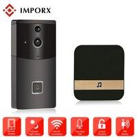 720P IP Video Intercom WI FI Video Door Phone Ring Door Bell WIFI Doorbell Camera Two