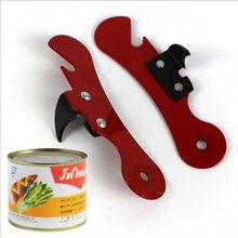Novo manual de aço inoxidável abridor lata conforto bom aperto lata jar latas abridor ferramentas