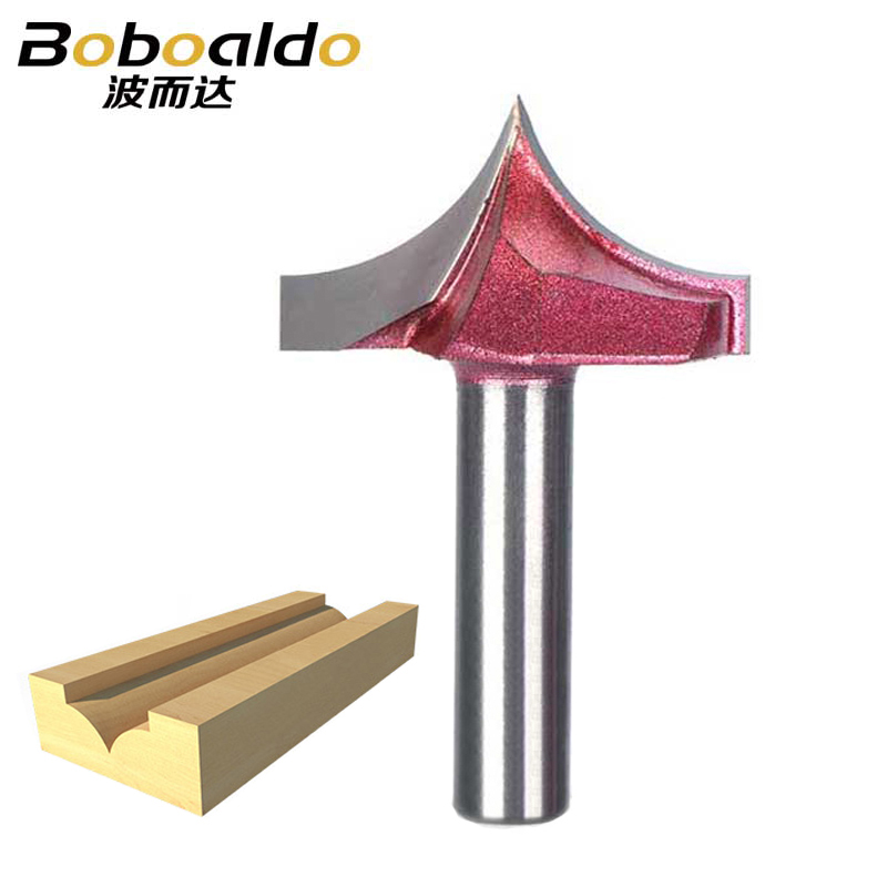 8mm Shank Router Bits Woodworking Cutter Trim Corner Point-cut Round Cove Box Bits Carving Point Cutting RoundOver Groove Bit