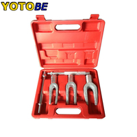 5pc Ball Joint Separator Tie Rod Ball Joint Remover Seperator automotive tools Puller Pickle Fork Tool