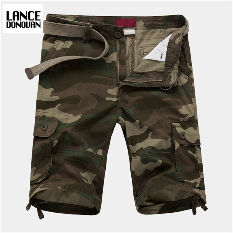 New 2017 Summer Mens Shorts Camouflage Cago For Men Breathable