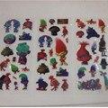 120 folhas de Trolls Brinquedo Adesivos de Espuma 3D Etiquetas Dos Desenhos Animados da Festa de Aniversário Decoração para Presentes Dos Miúdos 6 estilos