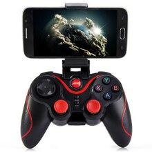 S3 Bluetooh game joystick Smart phone Game Controller Wireless Bluetooth 3 0 Phone Gamepad controle