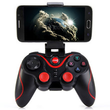 Newest Design S3 Smartphone Game Controller Wireless Bluetooth3.0 Phone Gamepad Joystick for Android phone PK T3 controller