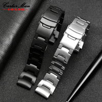High quality stainless steel strap PROTREK watchbandfor PRG 260/550 PRW 3500/2500/5100 men watch bracelet