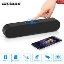 CBAOOO динамик s беспроводной Bluetooth портативный сабвуфер 3D стереоколонка для улицы для 3,5 мм интерфейс TF карты для телефона