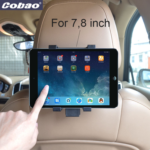 Universal tablet holder for car backseat tablet PC stand for 7 8 inch small tablet 7.9 inch Ipad mini phone holder