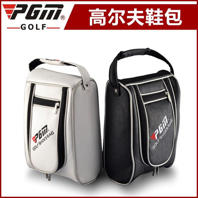 33x22CM Golf PU Shoes Golf Shoes Bag PU Waterproof Bag Sports Bag A4730
