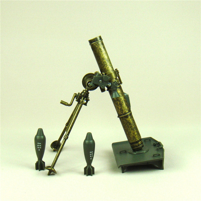 Military Mortar Sizes : Vintage iron mortar diecast replica model scaled plastic