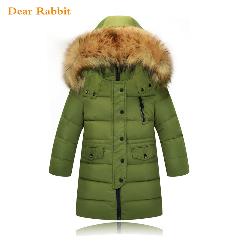 children's down jacket for girl clothes authentic winter boy white down coat thicken overcoat outerwear hooded 2-14 age parka a15 girls jackets winter 2017 long warm duck down jacket for girl children outerwear jacket coats big girl clothes 10 12 14 year