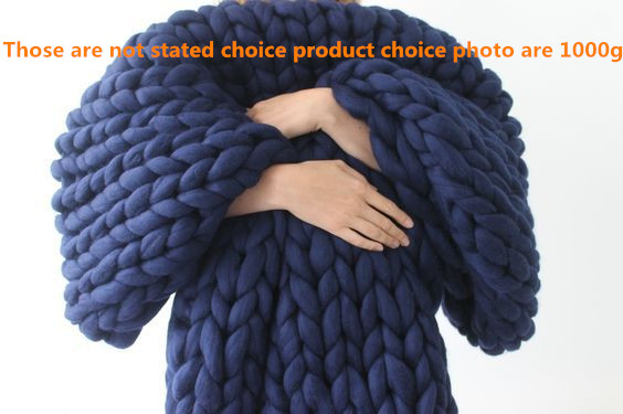 1000g/530G/270G/Ball Thick Natural Wool Chunky Felt Wool Roving Yarn for Spinning Hand Knitting Spin Yarn Diy Blanket Supplies