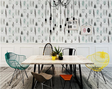 купить beibehang Modern Nordic wallpaper fashion feather living room TV background restaurant American pure paper 3d wall paper tapety дешево