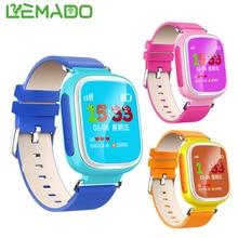 Lemado Q80 Seguro Perseguidor Del reloj de Los Cabritos para La Muchacha Del Muchacho Del Niño Reloj inteligente Smartwatch Llamada SOS de Alarma Dispositivo de Localización para IOS Android