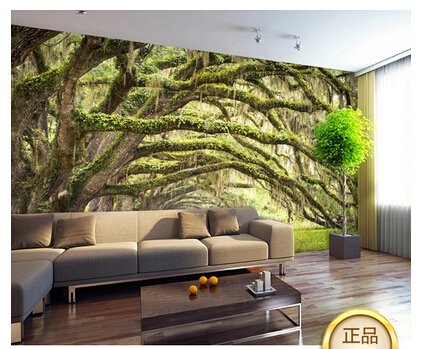 3d Forest Mural Wallpaper Bedroom Living Room TV Background Wallpaper Nature  Scenic Views Personalized Wallpaper Murals  In Wallpapers From Home  Improvement ...