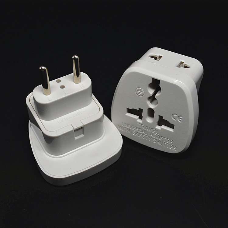 Canadian travel adapter double panel bath screen