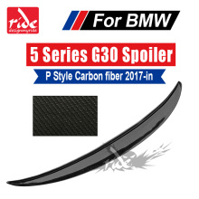 For BMW G30 Carbon Spoiler P Style 5-Series 530i 540i 550i M Performance Fiber Rear Trunk Wing 2017-2018