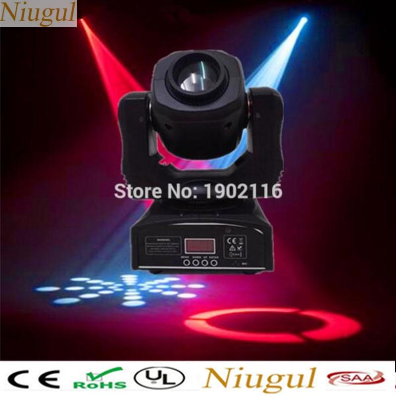 цена на 2pcs/lot 60W Led Moving Head Light Spot/DMX LED Pattern Rotation Gobo DJ Stage Disco Light 60W spot Nightclub KTV Party Lights