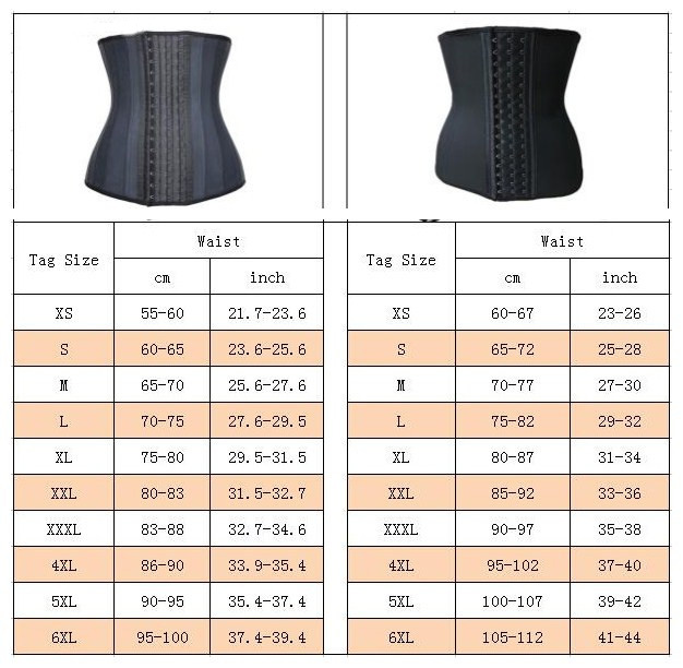 25 Steel Bones Posture Corrector Belt with Three Row Buckle Design Made of Pure Natural Rubber Fabric for Female 1