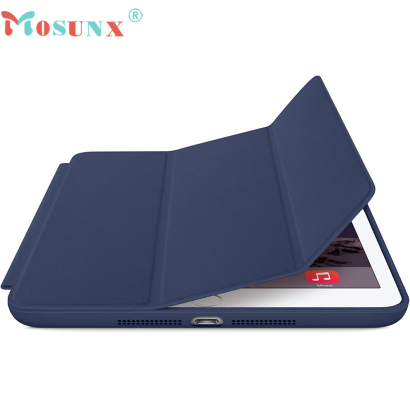 Mosunx Advanced tablet For iPad mini 1 2 3 Retina Smart Case Slim Stand Leather Cover Skin 1PC  цены