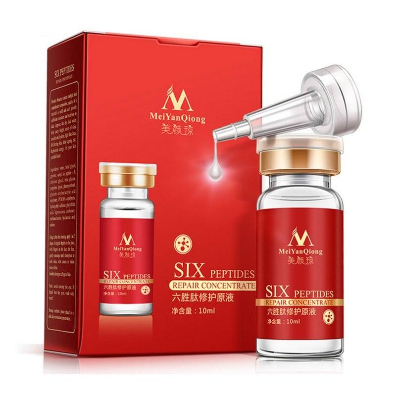 6pcs/lot Argireline Six Peptides Repair Concentrate Rejuvenation Emulsion Anti Wrinkle Serum For Face Skin Care Anti-aging Cream