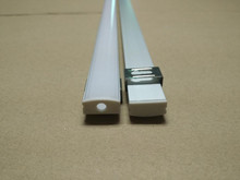 Free Shipping Hot Flat cabinet led aluminum mounted profile slim screwed led light bar aluminum channel 2m/pcs 100m/lot цена