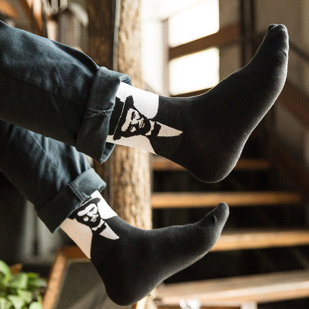 Men   Socks   Gentleman Style Pattern Autumn Winter 70% Cotton   Socks   Boys'   Socks   Tube   Socks