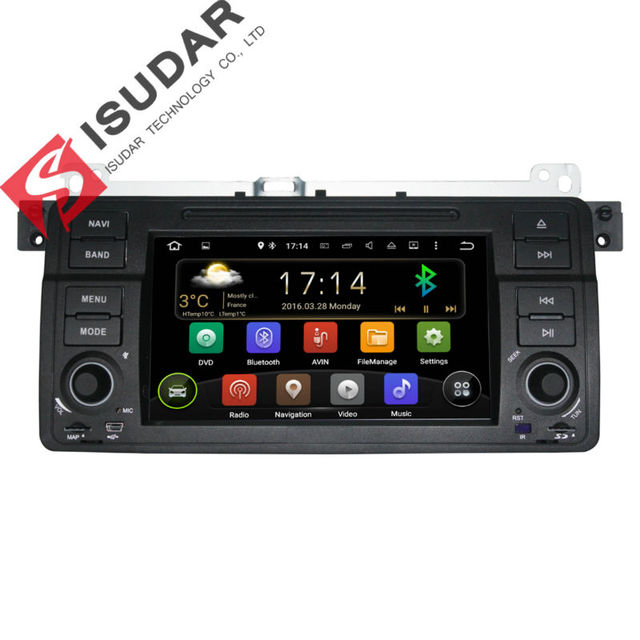 Android 5.1.1 7 Дюймов Dvd-плеер Автомобиля Мультимедиа Для BMW E46/M3/MG/ZT/3 серии Rover 75 Canbus Wi-Fi Gps-навигация Fm-радио Карта