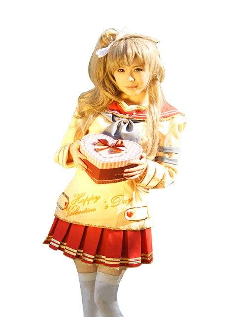cosplay costume kotori minami valentines day printed sailor suit sr card ver