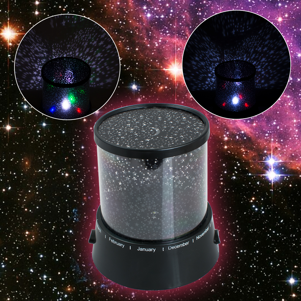 Star map projector lamp - Romantic Led Starry Night Sky Projector Lamp Kids Gift Star Light Cosmos Master China