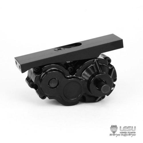 Oyuncaklar ve Hobi Ürünleri'ten RC Kamyonlar'de LESU Metal Kaplin için Transfer Kutusu/14 Tmy DIY RC Traktör Kamyon Modeli TH04810'da  Grup 1