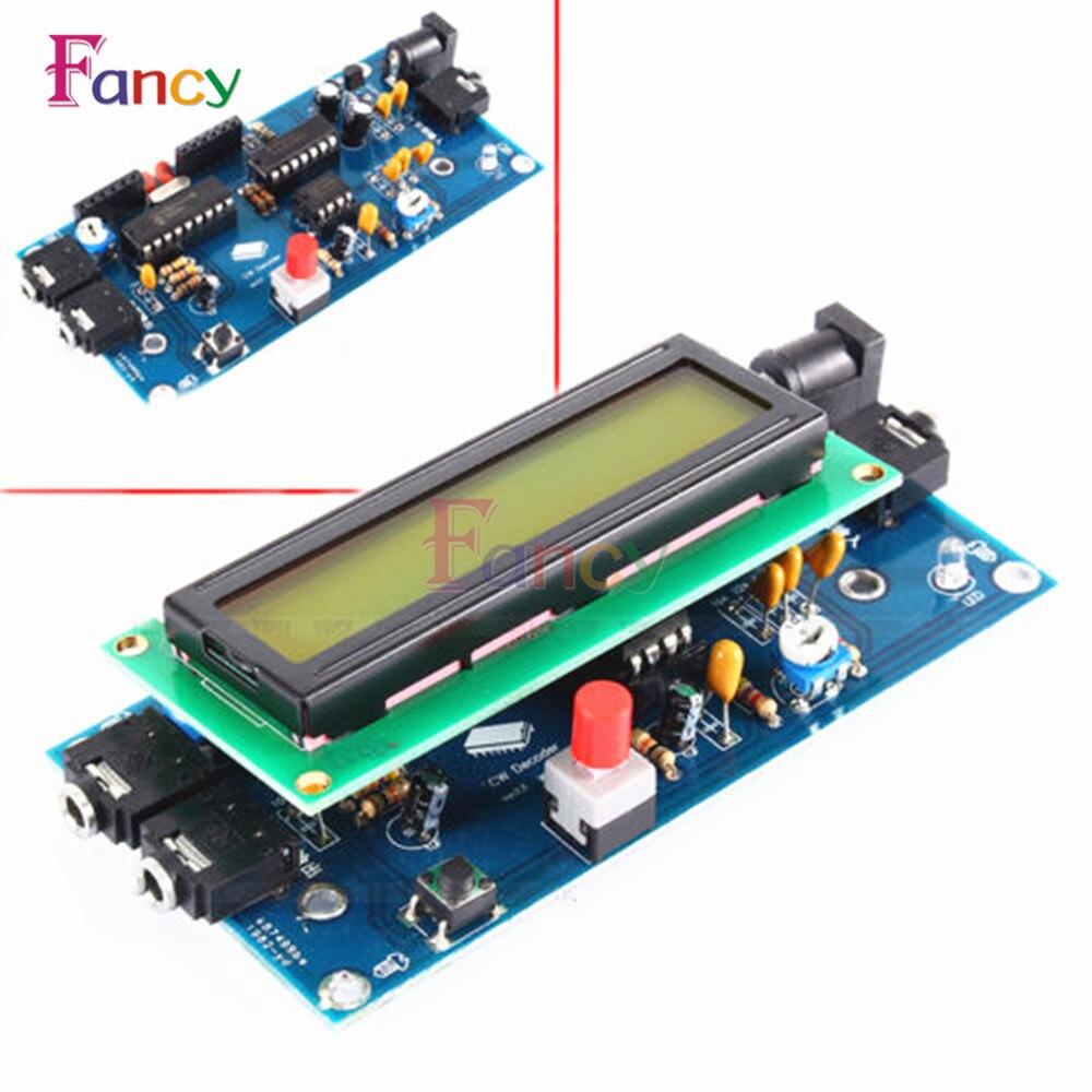 Ham Radio Essential CW Decoder Morse Code Reader Morse Code Translator Ham Radio Accessory DC7-12V/500mA with Top Quality