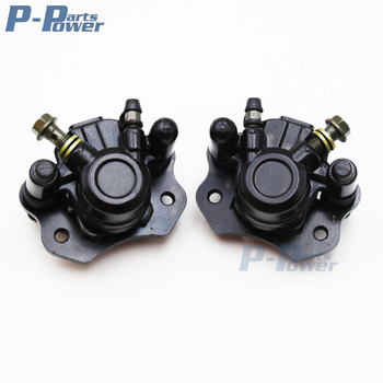 Front & Rear Hydraulic Brake Caliper Kit 50cc 70cc 90cc 110cc 125cc 150cc 200cc 250cc Kid Mini Quad Moto 4 ATV Quad Buggy Gokart